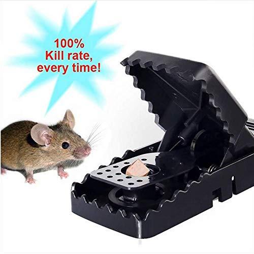Ljmouse Wiederverwendbare Rattenfeder Mousetrap Mäuse Catcher Rattenfalle Prop Heimwerkzeuge Langlebig Bequem Rattenfalle Zubehör (6 ()
