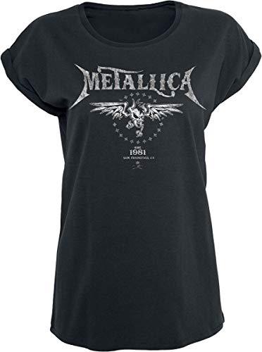 Metallica Biker Camiseta Negro XXL