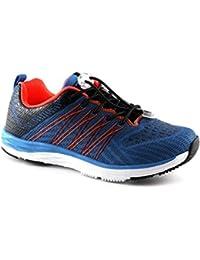Grünland JERS SC2725 zapatos de bebé azul zapatillas de deporte de la memoria elástica