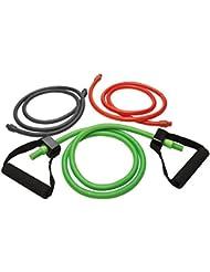 Extreme Kit Comfort Widerstandsbänder mit Griff, 3 Stück für BeachbodyWorkouts: P90 x, P90 x 3, Slim in 6, Focus T25