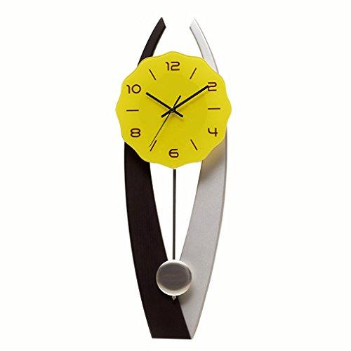 LINA Tendance Conception Sense Montre Salon Chambre Créative Simple Personnalité Horloge Murale Pendule Pendule Horloge Maison Moderne Horloge À Quartz Mur Décoratif Cartes