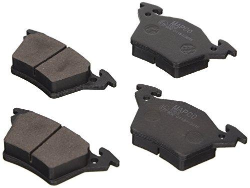 Preisvergleich Produktbild Mapco 6591 Bremsbelagsatz, Scheibenbremse - (4-teilig)