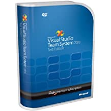 Visual Studio Team Test 2008 English w/MSDN Prem Not to Latam DVD (PC/Mac)