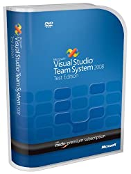 Visual Studio Team Test 2008 English Wmsdn Prem Not To Latam Dvd (Pcmac)