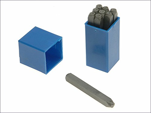 Priory 180- 12.0mm Set of Number Punches 1/2in -