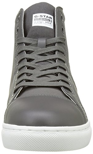 G-STAR RAW Toublo Mid, Sneakers Hautes Homme Gris (Gs Grey 1260)
