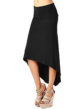 Faldas De Tubo Largas Estrecho Falda De Mujer Estrecho Atractiva De Cola De Milano Negro S