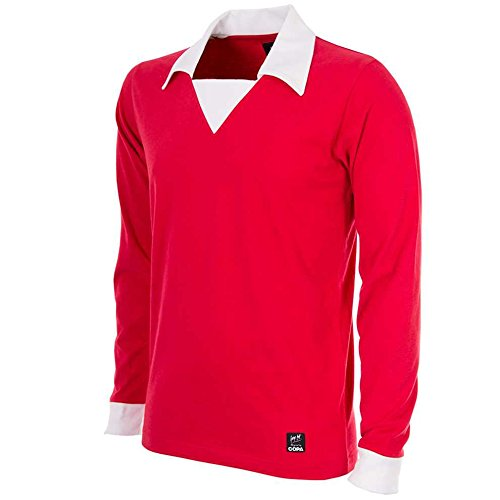 COPA - George Best Man. United Retro Trikot 70er Jahre (T-shirts Retro Jahre 70er)