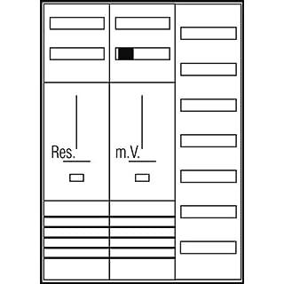 ABN Braun Komplettschrank BW 1Z 1V75-pol. S37BWS215X N