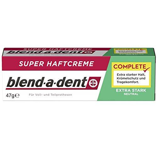 blend a dent Super-Haftcreme extra stark neutral 47g, 6er Pack (6x 47g)