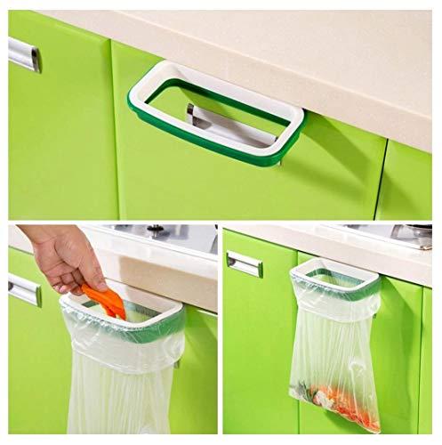 Yolandabecool Müllsack Halter Organizer Küche hängen Tragetasche Küche hängen Mülleimer Rack