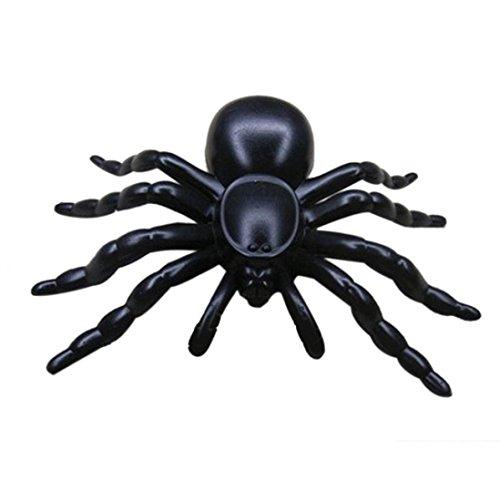 Ama (TM) 20Stück Kid Kinder Halloween realistisch Halloween Kunststoff Spider Scherz Spielzeug Dekoration (Clearance Halloween Prop)