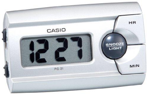 Casio CLOCKS PQ-31-8EF - Reloj para mujeres, correa de otros materiales color negro