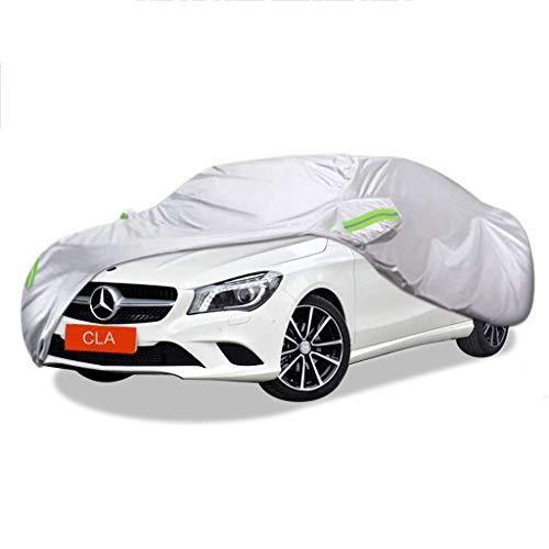 SXET-Cubierta de coche Cubierta del coche Cubierta impermeable a prueba de rasguños a prueba de viento Cubierta contra el polvo Protección UV Mercedes-Benz CLA Series Especial Oxford Tela Cubierta de