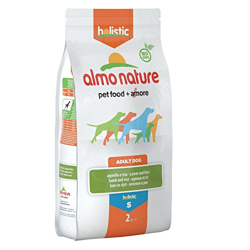 Almo Nature Holistic Small Adult con Agnello per Cani - Sacco da 2 kg