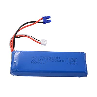 XCSOURCE 7.4V 2700mAh 30C Lipo Battery For Hubsan H501S Quadcopter BC606