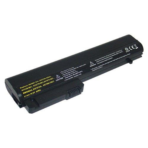 amsahr HSTNNFB22-02 Ersatz Batterie für HP Compaq Business Notebook 2400, 2510p, 2530p, NC2400, NC2410 schwarz