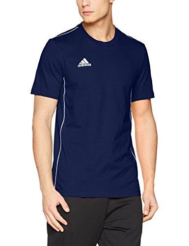 adidas Herren CORE18 Tee T-Shirt, Dark Blue/White, L -