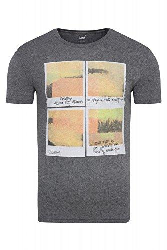 Lee Herren T-Shirt graumelange