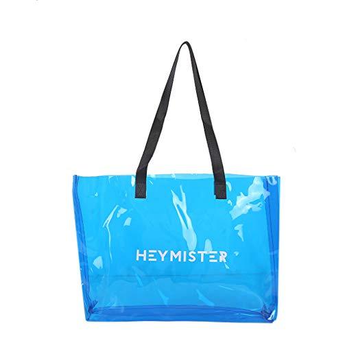 Große Strandtasche Damen, Lenfesh Wasserspielzeug Candy Strandtasche mit großer, Beach Bag Tote Faltbare Weiche Shopping Umhängetasche, für Badetasche für Familie Urlaub (Family Beach Tote)