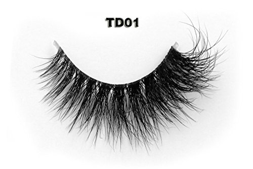 34 Modelle 3D Transparent Vorbauten Band 100% Handgefertigte Künstliche Wimpern Dickes Augen Lashes Falsche Wimpern TD01