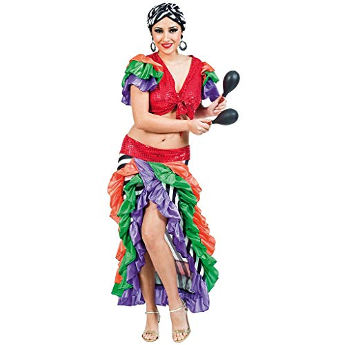 Kinder Kostüm Brasilianischer Karneval - Fyasa 705880-t04brasilianisches Frau Kostüm, groß