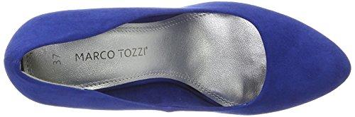 Marco Tozzi 22428, Escarpins Femme Bleu (Royal 838)