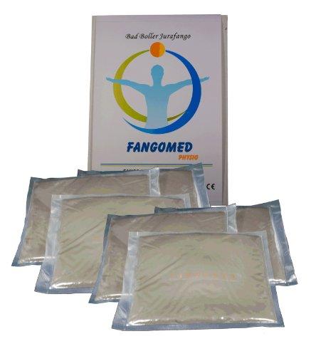 Fangomed Fangopackungen im 6er Pack - Fango-Heilschlamm, 4 kg