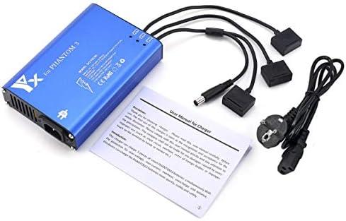 OlvidoF Chargeur Intelligent Intelligent Intelligent de Batterie émetteur Chargeur 4 en 1 parallèle pour DJI Phantom 3 Standard Professionnel Avancé Se RC Drone | Moderne Et élégant à La Mode  72181c