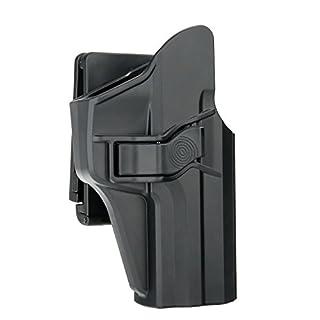 efluky H&K USP 9mm/.40 Full Size Belt Holster with Trigger Release Adjustable Cant