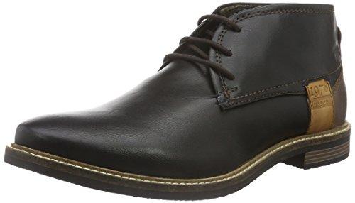 bugatti-f75326n-desert-boots-homme-noir-schwarz-100-42-eu