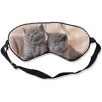 Black Kittens Sleep Eyes Masks - Comfortable Sleeping Mask Eye Cover For Travelling Night Noon Nap Mediation Yoga preisvergleich bei billige-tabletten.eu