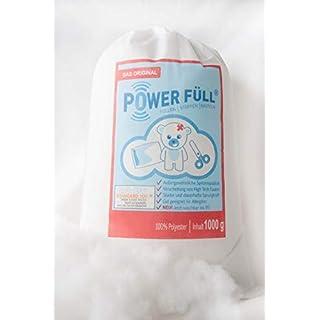 Füllwatte Power Füll 1kg Ökotex antiallergisch waschbar 95°C hochflauschig