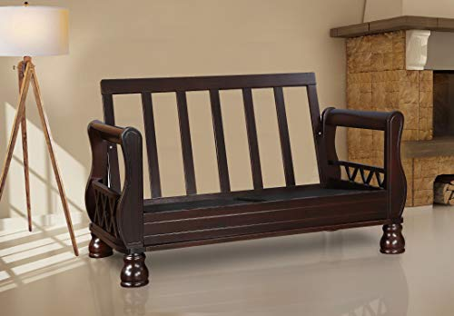 HomeTown Clyde Solidwood Two Seater Sofa Without Cushion