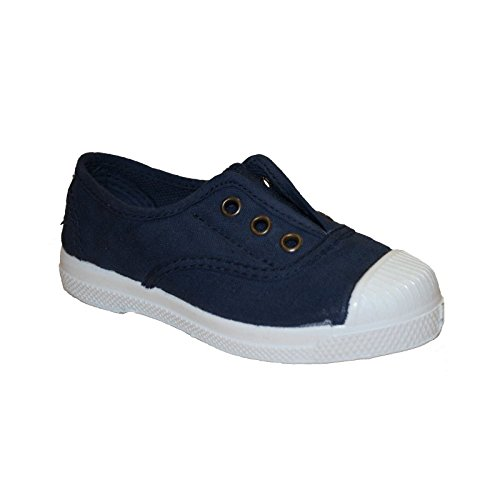 Natural World Slip On 470 Azul - NATURAL WORLD SLIP ON NAVY 470 AZUL