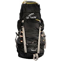 Da Tasche New Safari 60L Black Rucksack