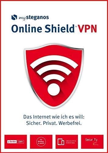 mysteganos Online Shield VPN - Das Internet wie ich es will: Sicher. Privat. Werbefrei! Für Windows, MacOS, Android oder iOS [Download] -
