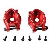 ForceSthrength 2Pcs TRX4 Supporto assale in Alluminio per portale Posteriore in Metallo per TRAXXAS TRX-4 8256