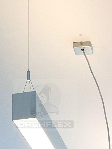 Drehflex® Mini PIR-Bewegungsmelder zum Einbauen 240Volt LED geeignet - 3