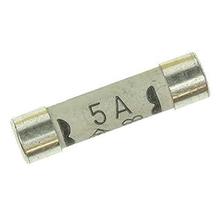 Bulk Hardware BH02291 BS1362 Fuse Cartridge, 5 amp - Pack of 10
