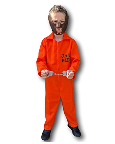 a2f315ab24b4 Rubber Johnnies Orange Prisoner Jumpsuit Costume