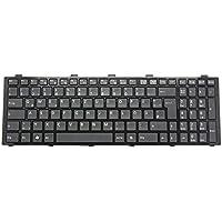 Tastatur, deutsch (DE) schwarz - Chiclet für Fujitsu LifeBook AH531 Serie
