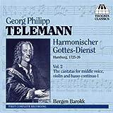 Telemann : Six Cantates (Harmonischer Gottes-Dienst - Volume 2)