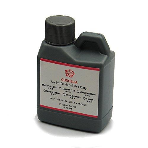 Coscelia 120ML Liquide Acrylique Professionnel Pour Nail Art Poudre Manucure