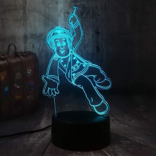 Nachtlicht 3D Led Usb Tisch Schreibtischlampe Wohnkultur Weihnachtsgeschenk Display Birne Spielzeug Geburtstagsgeschenk ()