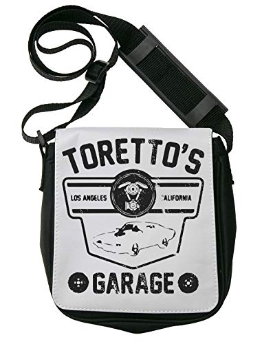 Toretto's Garage Schultertasche Herren Umhängetaschen Damen Taschen Unisex Shoulder Bag -