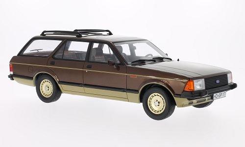 Ford-Granada-MKII-Turnier-Chasseur-met-braun-gold-limitierte-Auflage-1000-Stck-1980-Modellauto-Fertigmodell-BoS-Models-118