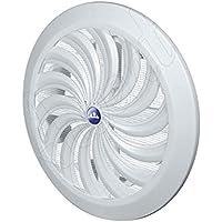 círculo CAPÓ modelo de ventilación regulable hit & Srta. 100 a 150mm blanco conductos de ventilación cobertura controlada por un cordel debe Manejarse de r