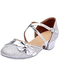 Lihaer Zapatos De Baile De Mujer De Moda Sandalias Transpirables De Verano Zapatos De Baile Latino para Niños