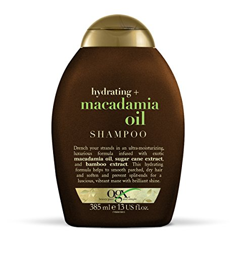 OGX Hydrating Macadamia Oil Shampoo, 1er Pack (1 x 385 ml)